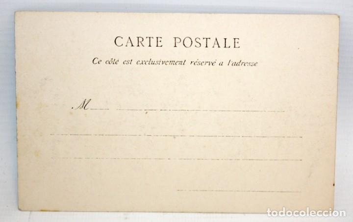 Postales: ANTIGUA POSTAL ESTEREOSCOPICA ETNICA. BON CHKIONA, MUSIQUE DES NEGRES. SIN CIRCULAR - Foto 2 - 173181770