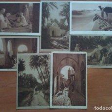 Postales: SIETE POSTALES CON CONTENIDOS ÁRABES. Lote 177292685