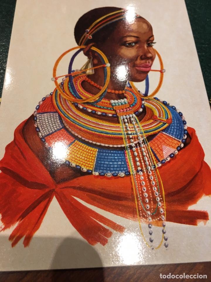 Postales: Lote postales Tribus Africa - Foto 2 - 177648257