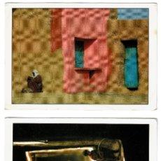 Postales: 2 POSTALES MARRUECOS : 1 DOS NIÑOS JUGANDO EN UN PASADIZO DE KSAR - 2 PUEBLO DEL VALLE DE DRAA - . Lote 180602145