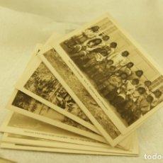 Postales: RARAS LOTE DE 10 POSTALES ESQUIMALES Y MISIONES ANIMADAS SIN CIRCULAR. Lote 182005198
