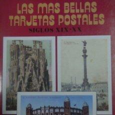 Postales: LIBRO POSTALES DE BARCELONA. Lote 183182050