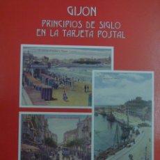 Postales: LIBRO POSTALES DE GIJON. Lote 183182512