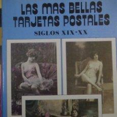 Postales: LIBRO DE POSTALES DE DESNUDOS DE EPOCA. Lote 183182913