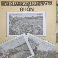 Postales: LIBRO DE POSTALES DE GIJON. Lote 183183065