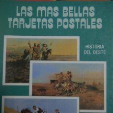 Postales: LIBRO DE POSTALES DEL OESTE. Lote 183183285