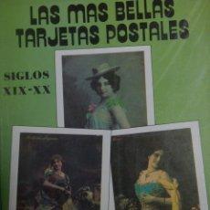 Postales: LIBRO DE POSTALES CLASICAS DE BELLEZAS DEL SIGLO XIX. Lote 183183606