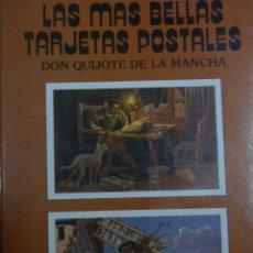 Postales: LIBRO DE POSTALES CLASICAS DEL QUIJOTE. Lote 183183792