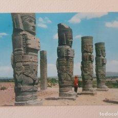 Postales: COLOSOS DE TULA MEXICO POSTAL. Lote 183464761