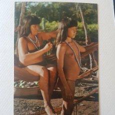 Postales: INDIOS MOCINHAS RIO TUATUARI BRASIL POSTAL. Lote 183466836