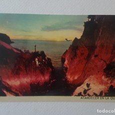Postales: ATARDECER EN LA QUEBRADA POSTAL. Lote 183468332