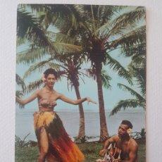Postales: CHICA HULA BAILANDO HAWAI USA POSTAL. Lote 183469616