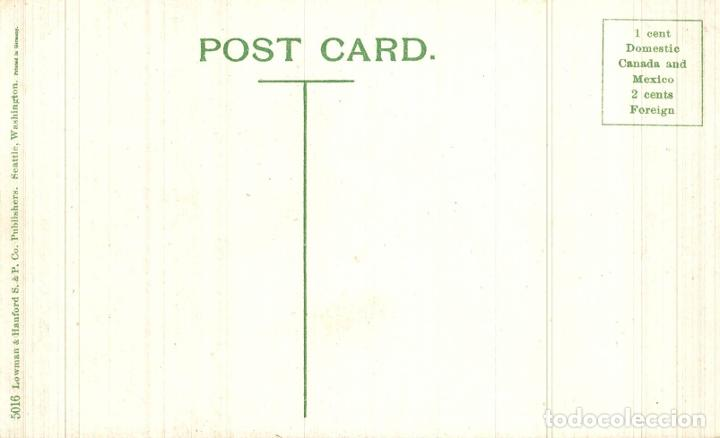 Postales: INDIAN BURIAL GROUND ALASKA. - INDIOS INDIANS - Foto 2 - 183544585