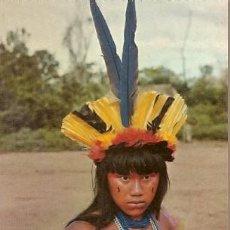 Postales: BRASIL ** & POSTALE, NATIVO DE BRASIL, INDIA SUIÁ, CEREMONIA YAMARICUMA (7887). Lote 185953852