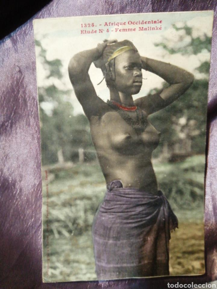 CPA 1326 ÁFRICA OCCIDENTAL FEMME MALINKE (Postales - Postales Temáticas - Étnicas)