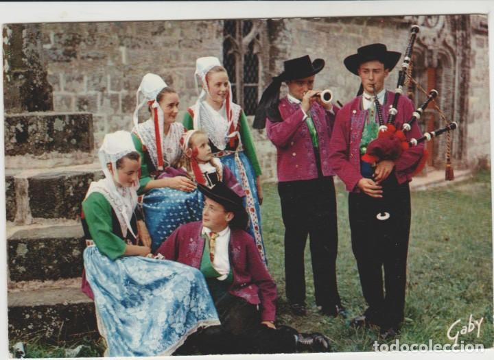 LOTE A POSTAL FOLKLORE GAITERO SELLOS (Postales - Postales Temáticas - Étnicas)