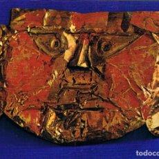 Cartoline: TESOROS DEL PERU, MASCARA DE ORO CHIMU, SIGLO XII. Lote 189098120