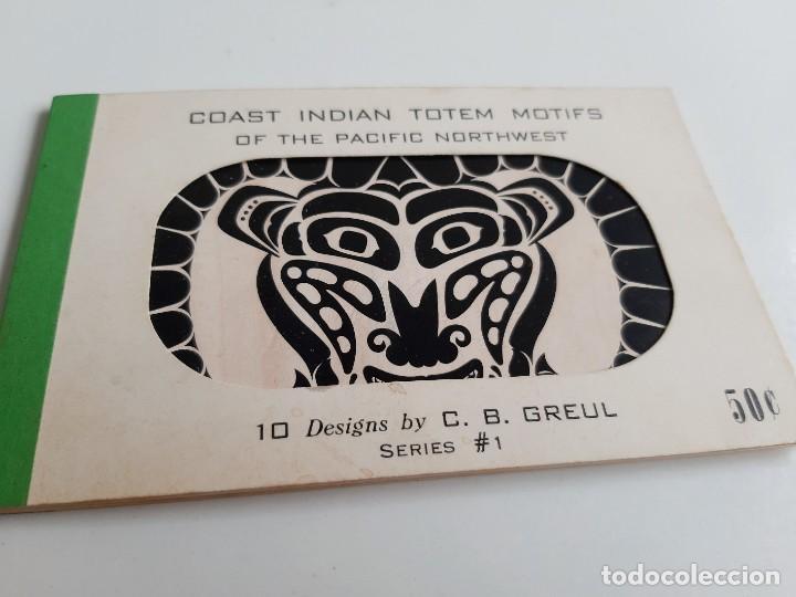 SET DE 10 POSTALES PACIFIC NORTHWEST COAST INDIAN MOTIF (Postales - Postales Temáticas - Étnicas)