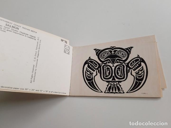 Postales: SET DE 10 POSTALES PACIFIC NORTHWEST COAST INDIAN MOTIF - Foto 5 - 189568573
