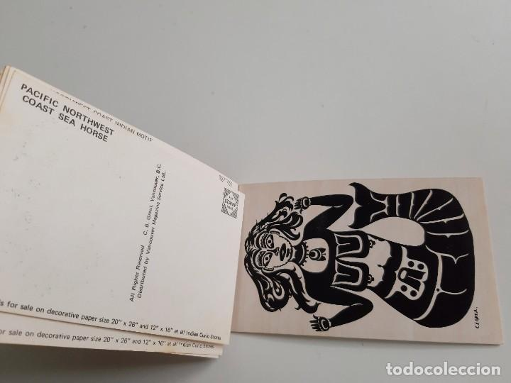 Postales: SET DE 10 POSTALES PACIFIC NORTHWEST COAST INDIAN MOTIF - Foto 12 - 189568573