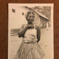 Postales: 198. MULHER INDÍGENA (NATIVE WOMEN). POSTAL CIRCULADA LOURENÇO MARQUES P.E.A. PHOTO BY LU SHIH TUNG. Lote 189907440