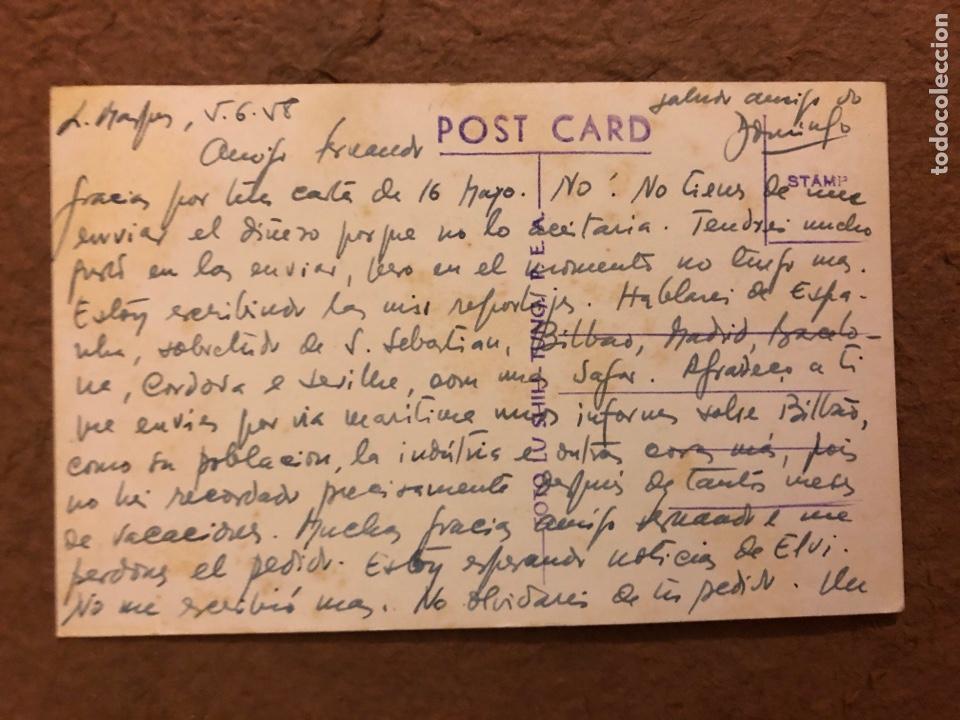 Postales: MULHER INDÍGENA. POSTAL CIRCULADA EN 1958. PHOTO BY LU SHIH TUNG. - Foto 2 - 189907528