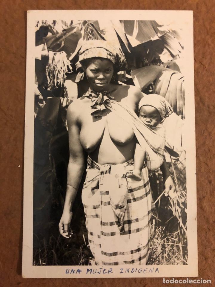 MULHER INDÍGENA. POSTAL CIRCULADA EN 1958. PHOTO BY LU SHIH TUNG. (Postales - Postales Temáticas - Étnicas)