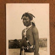 Postales: INDIO AUTÉNTICO (PARAGUAY). ANTIGUA POSTAL SIN CIRCULAR. FOTO: CLAUS HENNING.. Lote 189907568
