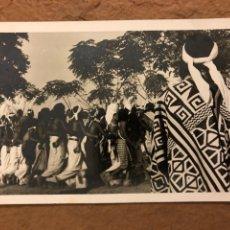 Postales: TRIBU INDIOS AUTÉNTICOS (PARAGUAY). ANTIGUA POSTAL SIN CIRCULAR. FOTO: CLAUS HENNING.. Lote 189907602