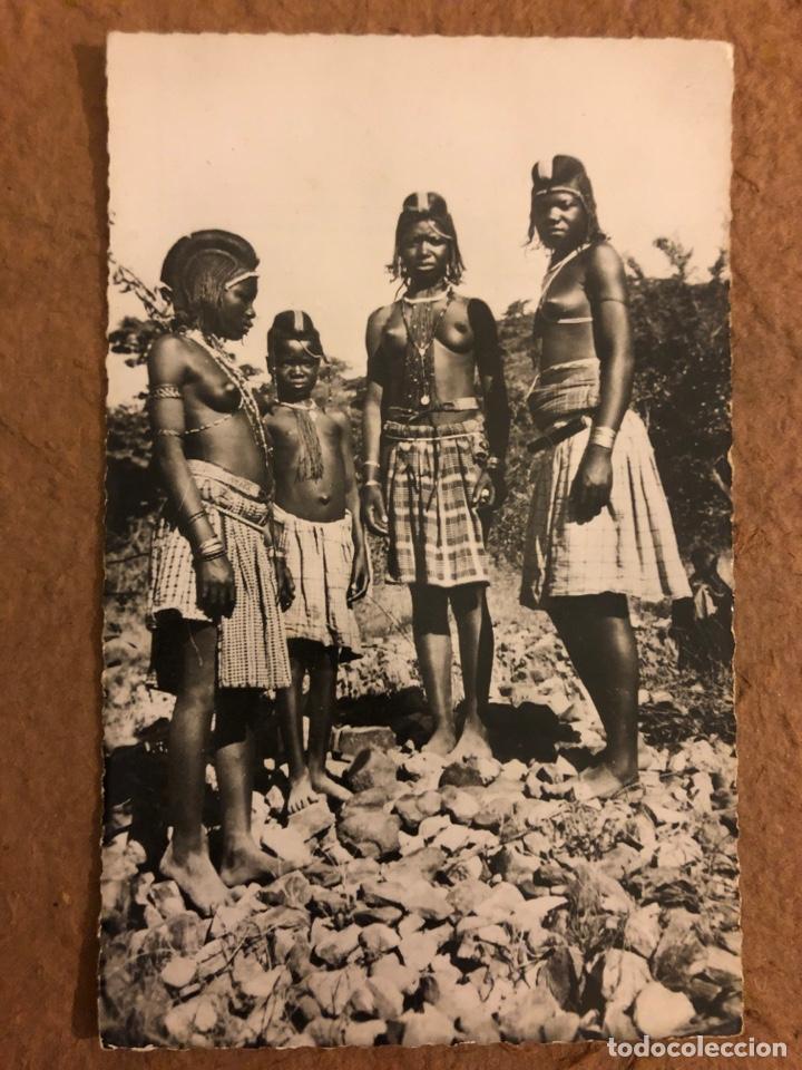 NATIVE WOMEN HUMBE (ANGOLA). ANTIGUA POSTAL SIN CIRCULAR. ED. LIVRARIA MAGALLANES. (Postales - Postales Temáticas - Étnicas)
