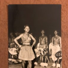 Postales: DANCERS (MOZAMBIQUE). POSTAL CIRCULADA EN 1959. ED. M. SALENA & CARVALHO N° 14.. Lote 189907723