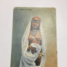 Cartoline: POSTAL. ANTIGUA POSTAL. BELLEZA MARROQUÍ. MELILLA. H. 1915?.. Lote 190037660