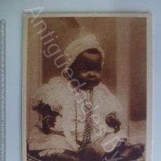 Postales: POSTAL. 193. BABY NEGRESSE. EDITEURS L & L. NO ESCRITA.. Lote 191887998
