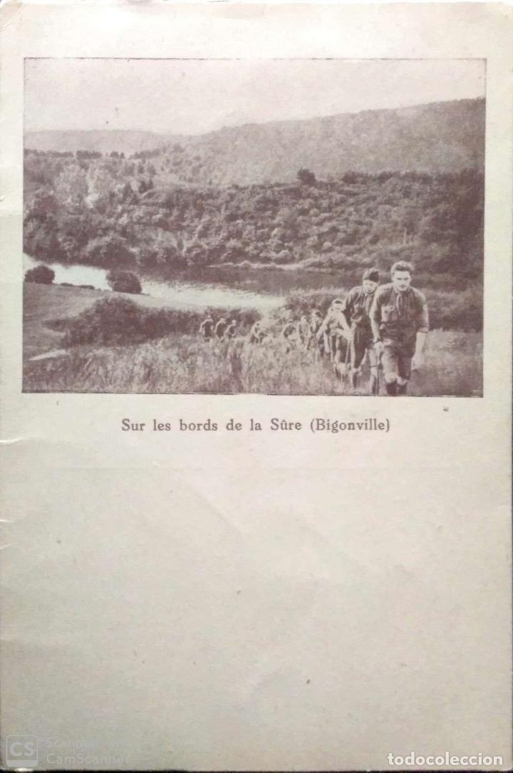 SUR LES BORDS DE LA SÛRE (BIGONVILLE). BOY SCOUTS. NUEVA. BLANCO/NEGRO (Postales - Postales Temáticas - Étnicas)