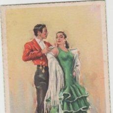 Postales: LOTE C-POSTAL FOLKLORE ESPAÑOL AÑOS 40-50. Lote 196888518