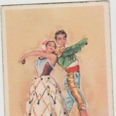 Postales: LOTE C-POSTAL FOLKLORE ESPAÑOL AÑOS 40-50. Lote 196888547