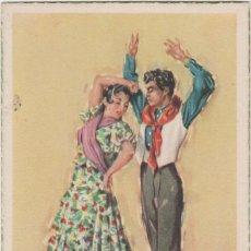 Postales: LOTE C-POSTAL FOLKLORE ESPAÑOL AÑOS 40-50. Lote 196888567