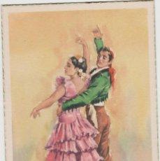 Postales: LOTE C-POSTAL FOLKLORE ESPAÑOL AÑOS 40-50. Lote 196888585