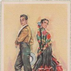 Postales: LOTE C-POSTAL FOLKLORE ESPAÑOL AÑOS 40-50. Lote 196888606