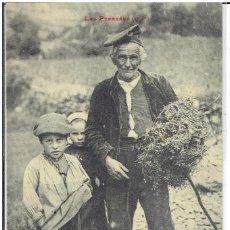 Postales: ANDORRA, PIRINEOS, VALLS D'ANDORRA, LF, CIRCULADA. Lote 198128063
