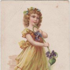 Postales: LOTE X-POSTAL ROMANTICA 1903 MATA SELLOS. Lote 199122050