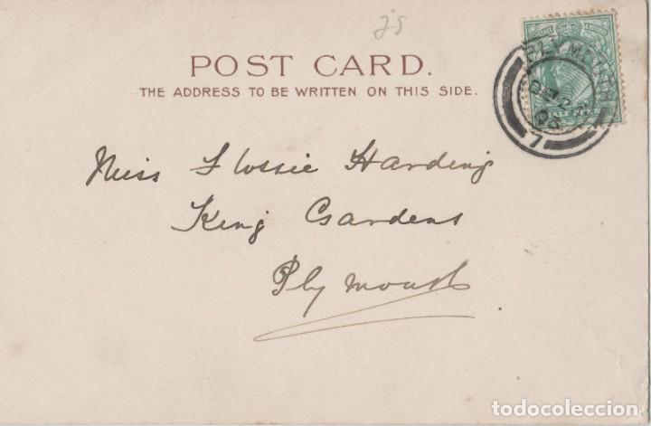 Postales: LOTE X-POSTAL ROMANTICA 1903 MATA SELLOS - Foto 2 - 199122050
