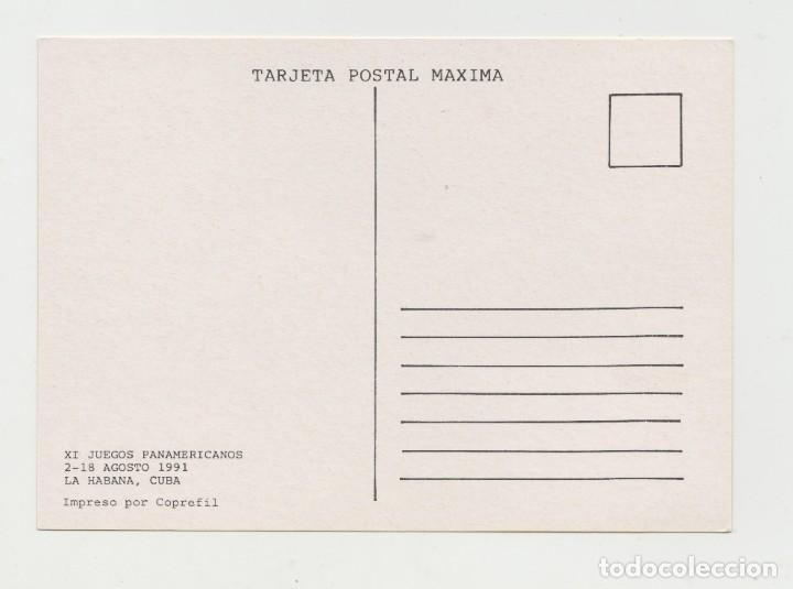 Postales: LOTE S-POSTAL CUBA DEPORTES FUTBOL MATA SELLOS - Foto 2 - 199124696