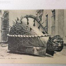Postales: TARASCON LA TARASQUE, GIGANTES Y DRAGONES. Lote 204054565
