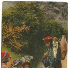 Postales: FILLETTES ARABES - ARGELIA - SCENES ET TYPES - 1907. Lote 205581738