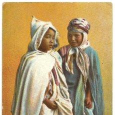 Postales: ENFANTS KABYLES - ARGELIA - SCENES ET TYPES -1909. Lote 205586785