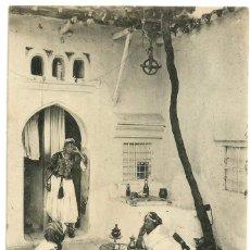 Postales: INTÉRIEUR ÁRABE - ARGELIA - SCENES ET TYPES -1914. Lote 205589478