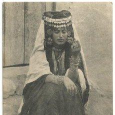 Postales: FEMME DE OULED NAÏLS - ARGELIA - SCENES ET TYPES -1915. Lote 205593366
