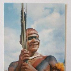 Postales: INDIO MEHINAKU MACURITZA BRASIL POSTAL. Lote 205598916