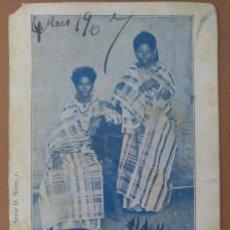Postales: POSTAL ETNICA GUINEA ESPAÑOLA ISLA SAN THOME CIRCULADA 1907. Lote 206127221